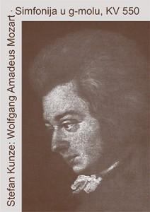 Naslovnica knjige Wolfgang Amadeus Mozart. Simfonija u g-molu, KV 550