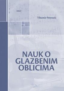 Naslovnica knjige Nauk o glazbenim oblicima