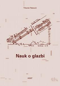Naslovnica knjige Nauk o glazbi, 2. dopunjeno i promijenjeno izdanje