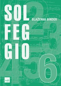 Naslovnica knjige Solfeggio 6