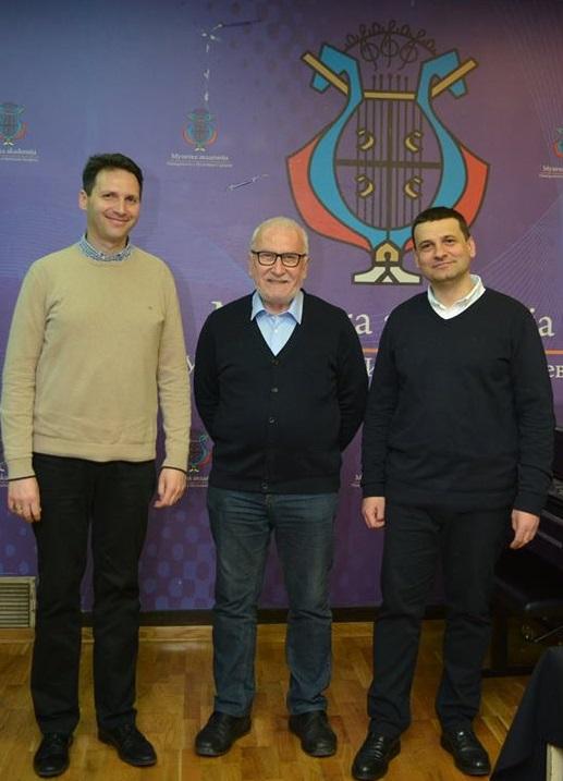 Dušan Erak, Tihomir Petrović i Zoran Božanić